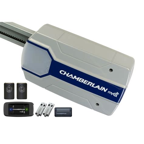 Chamberlain Garage Door Opener App Chamberlain Powerlift Myq App Controlled Sectional Garage Door Opener