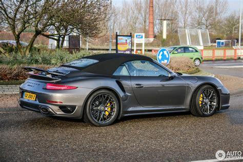 Porsche 991 Turbo by Porsche 991 Turbo S Cabriolet 2 Januar 2016 Autogespot