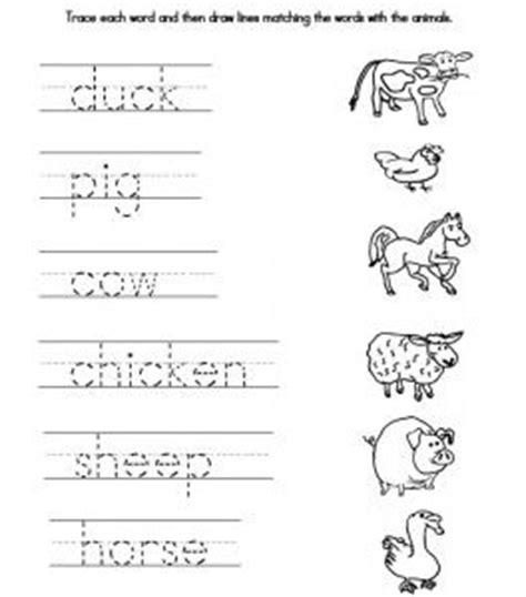 printable animal tracers traceable farmer we also created a fun worksheet