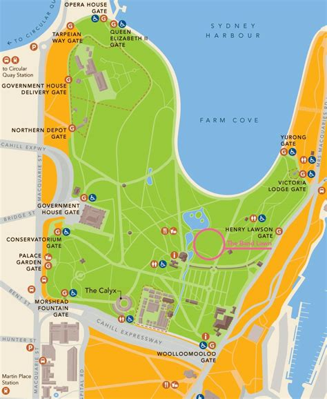 Sydney Botanic Gardens Map Botanic Beats Garden Disco Tickets Dates Eventbrite