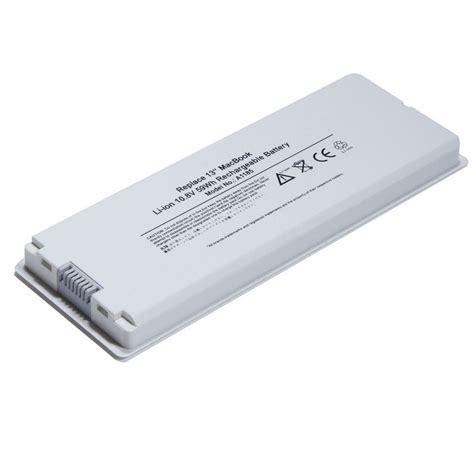 Baterai Laptop Macbook White laptop battery for apple macbook 13 quot 13 3 quot inch a1181 a1185 ma561 ma566 white ebay