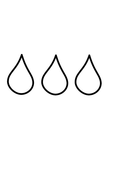 Raindrop Outline Clipart by Drop Clip Black And White Clipart Best