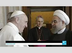 Pope Francis welcomes Iranian president Hassan Rouhani for ... France News 24 Live