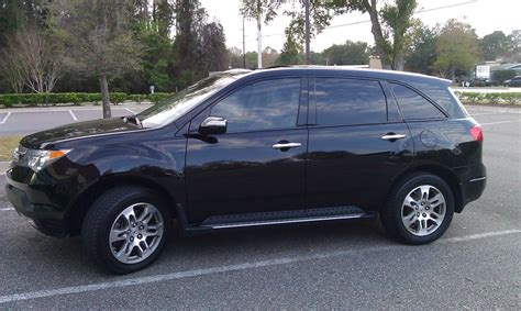 2007 acura mdx picture of 2007 acura mdx awd tech pkg exterior