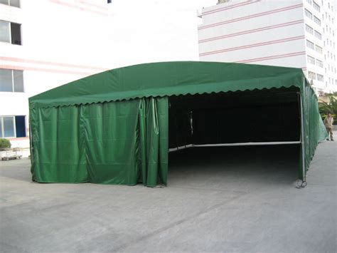 outdoor activities garage sliding folding mobile carport