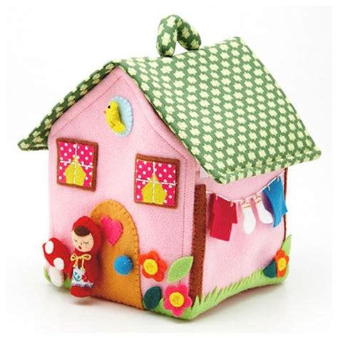 pattern felt house 17 best images about little houses on pinterest brooches