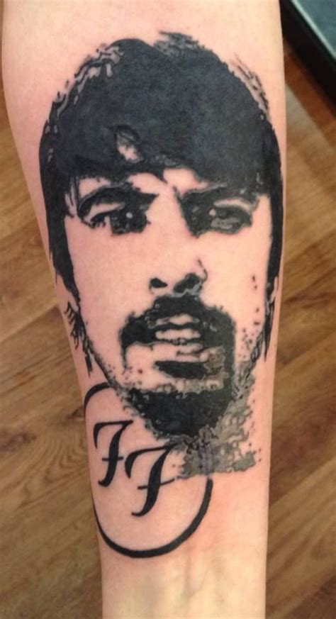 dave grohl tattoo dave grohl foo fighters tattoos and