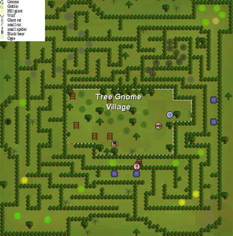 tree gnome village maze gnome maze old school runescape wiki fandom powered by