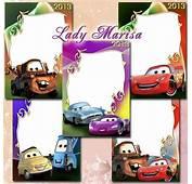 Recursos Photoshop Llanpac 5 Marcos Infantiles De Cars Psd
