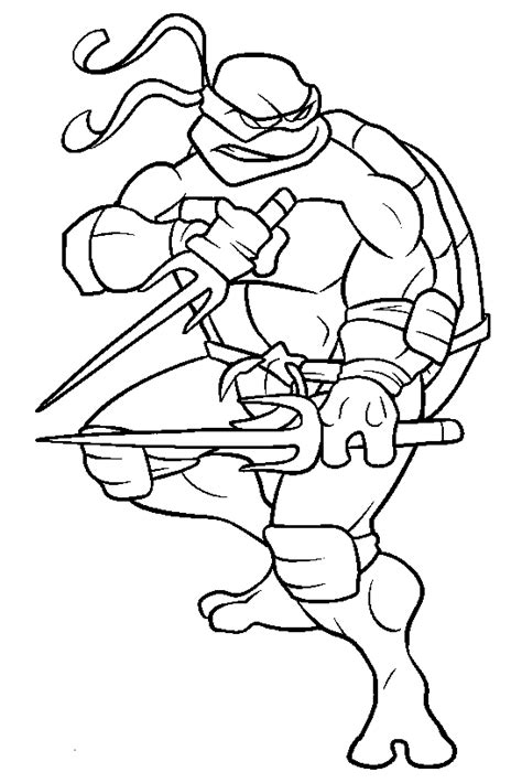 raphael ninja turtle coloring pages printable tmnt raffaell colouring pages