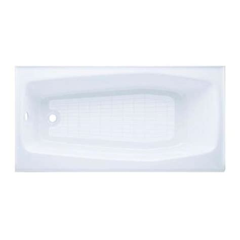 kohler bathtubs home depot kohler villager 5 ft left hand drain integral apron cast