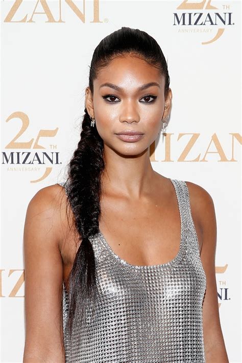 chanel iman face chanel iman long braided hairstyle newest looks