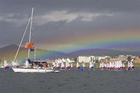 boat chandlers glasgow craftinsure topper national series at largs sailing club