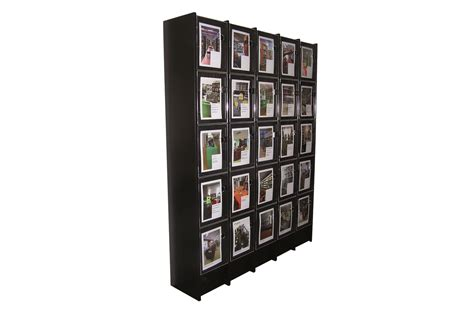 Magazine Cabinet by Ordrup Magazine Display Cabinet