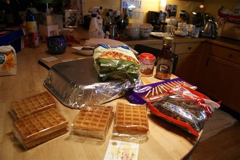 Waffle Cabin Waffle Recipe by Waffle Cabin Ingredients Flickr Photo