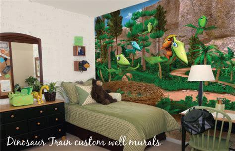 dinosaur train bedroom bonggamom finds dinosaur train wall mural giveaway