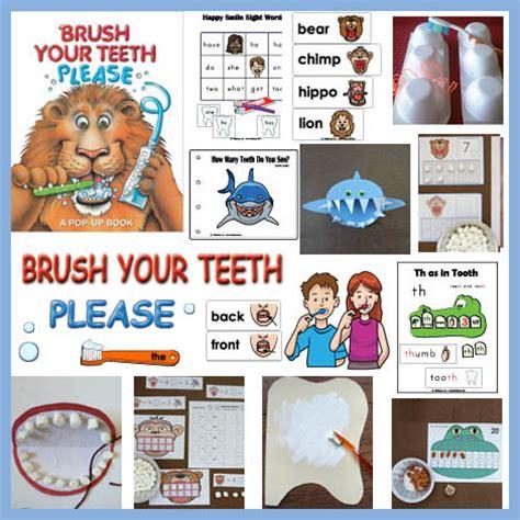 Brush Your Teeth Please Teeth And Dental Health Crafts