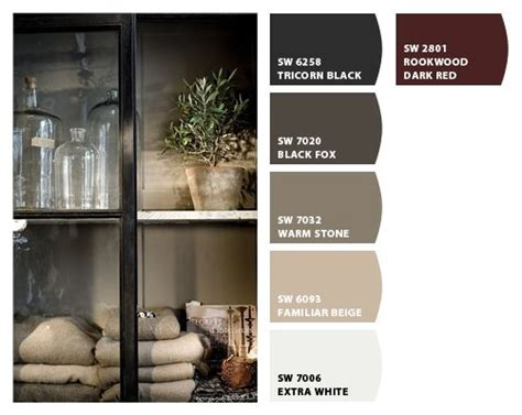 chip it by sherwin williams greys and browns the warm and black fox for the home