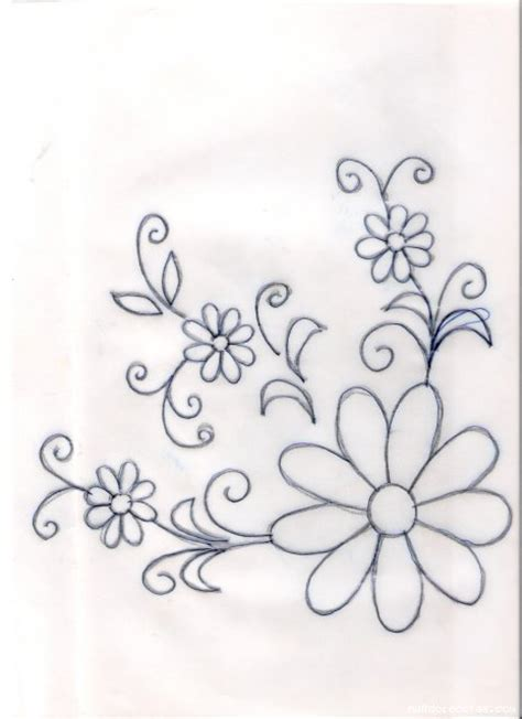 imagenes para pintar manteles dibujos de flores para pintar en manteles imagui car