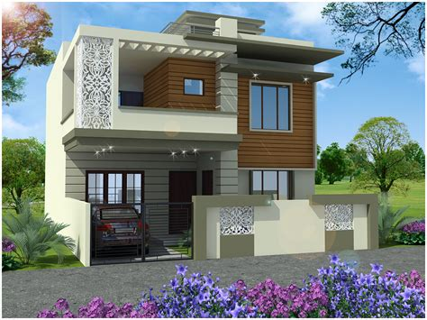 house elevation ghar planner leading house plan and house design