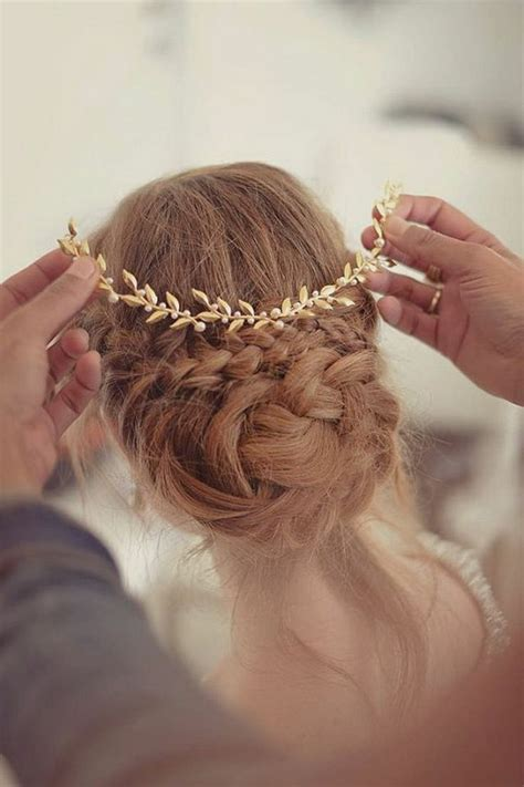 Hochzeit Haare Offen Oder Hochgesteckt by Die Besten 25 Brautfrisuren Offen Ideen Auf
