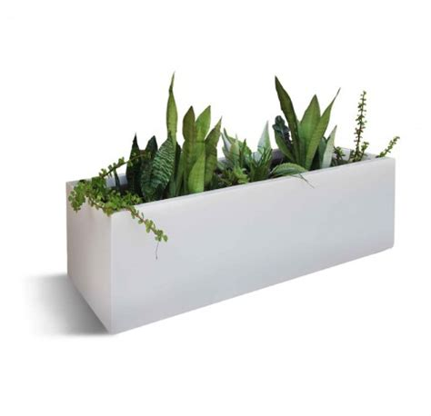 modern indoor  outdoor planters  miami florida