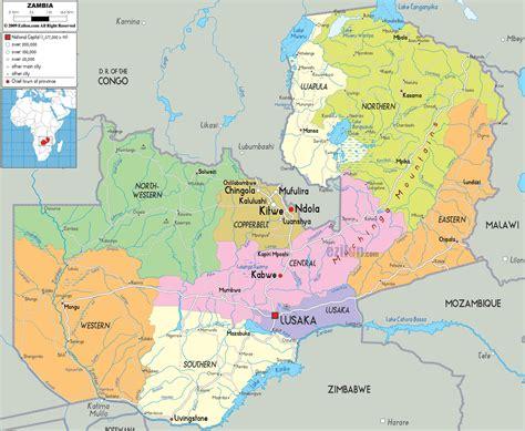 lusaka zambia map maps of zambia map library maps of the world
