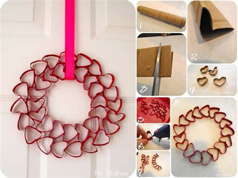 easy diy diy easy heart wreath fabdiy