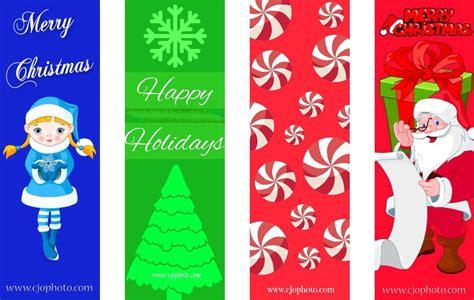 printable holiday bookmarks cjo photo christmas printables