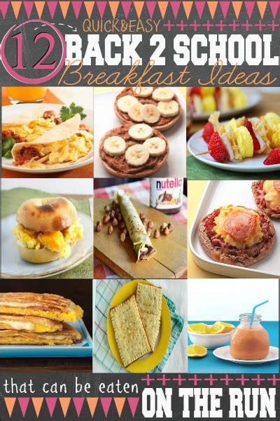 printable healthy breakfast recipes school lunch planning printables first home love life