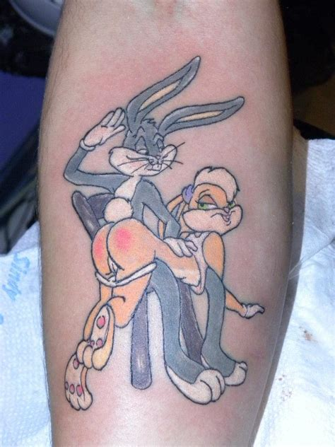 bugs bunny tattoo gallery cartoon tattoo designs