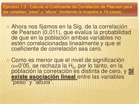 como se calcula el coeficiente de renta 2016 sunat ejercicios de correlaci 243 n lineal de pearson con ibm spss