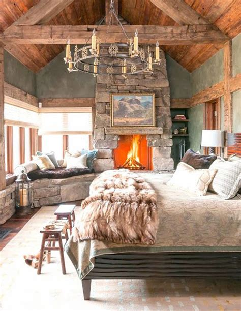 get the look cozy ski chalet bedrooms home decorating blog community ls plus
