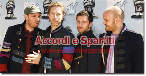 testo trouble trouble coldplay accordi e spartiti