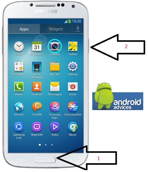 screen capture android how to take screenshot in galaxy s4 android phone 2 simplest methods