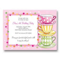 jaw dropping tea birthday invitations which is viral today theruntime