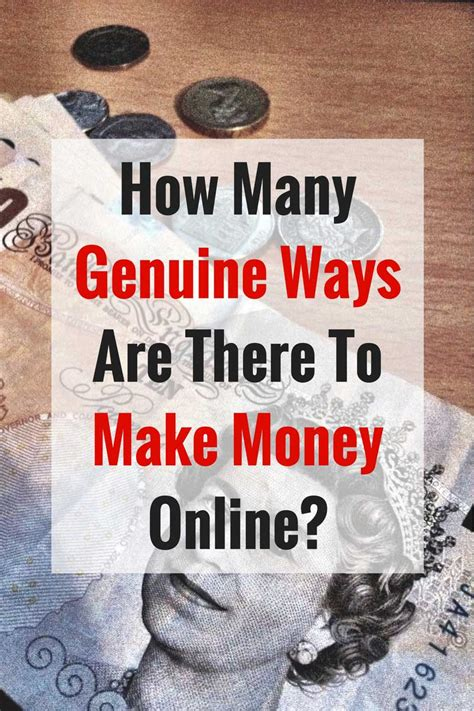 Best Way To Make Money Online Free - how many genuine ways are there to make money online