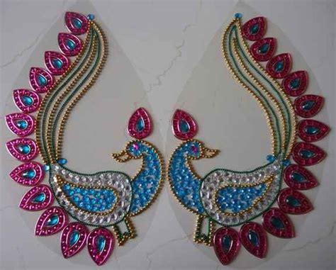 beautiful peacock   ohp sheet  nikita creations