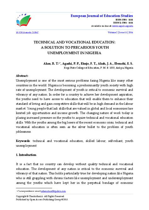 technical  vocational education  solution