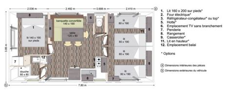 cing 4 chambres mobilhome 3 chambres 100 images les mobil homes 3