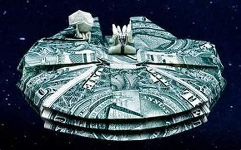 millennium falcon origami origami falcon ootinicast a wars the