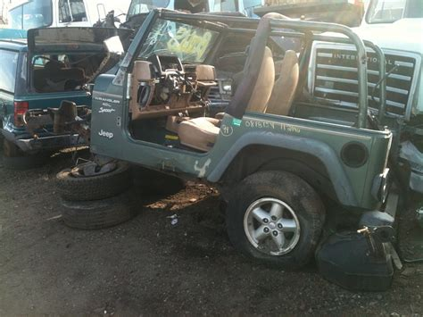 Jeep Wrangler Salvage Yards Junk Yard Pictures Shhh Be Vwary Vwary Quite We Re
