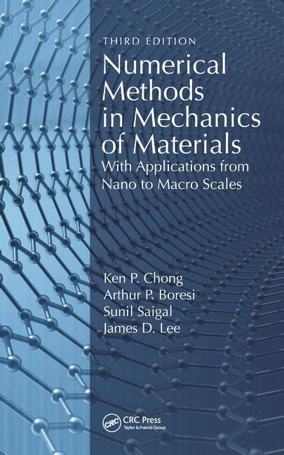 numerical methods in mechanics of materials 3rd ed with