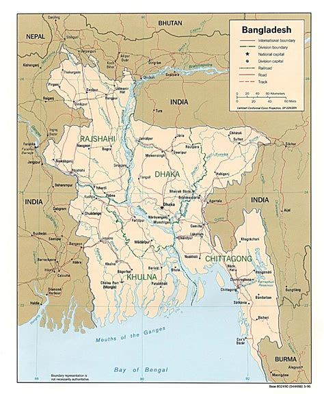 map of bangladesh country maps
