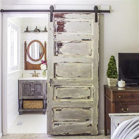 Faire Une Porte Coulissante 3982 by 15 Inspirations Pour Recycler Une Porte Ancienne Joli Place