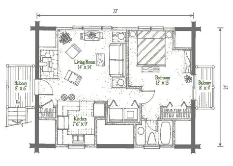 Garage Studio Plans by Studio Garage Log Homes Floor Plan