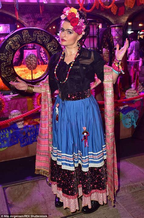 Gamis Helena Dress Original Balotelli helena bonham slicks on a bold brow as she emulates