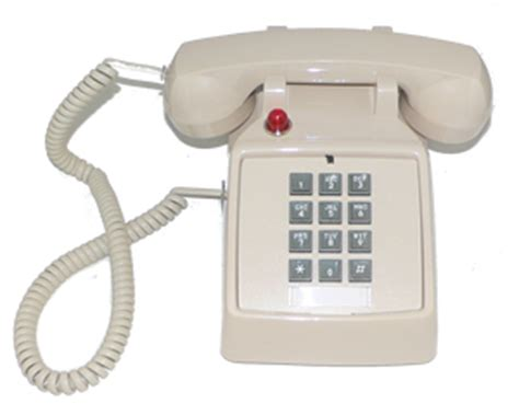 Cortelco Desk Phone by Cortelco 2500 Valueline Ash Desk Phone W Ringer Light