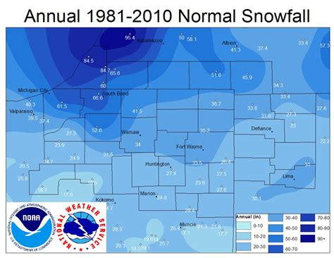 snowfall map snowfall map usa images