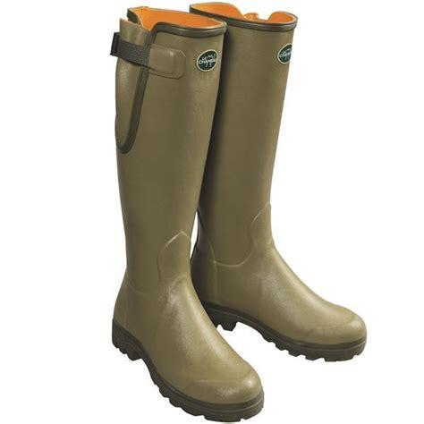 rubber boots le chameau verizon premium rubber boots for save 40